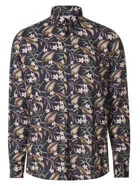Latif Flower Print Shirt