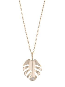 Hyde leaf pendant neck 42