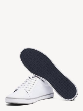 TOMMY CANVAS LACE UP TRAINERS