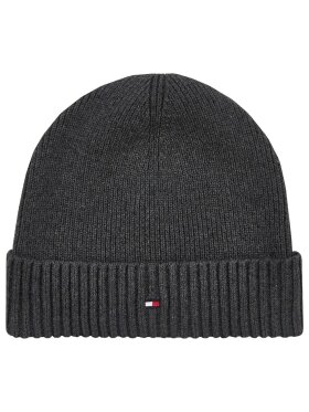 Tommy Hilfiger PIMA COTTON BLEND FLAG EMBROIDERY BEANIE