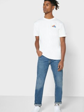 TOMMY JEANS Embroidered Mountain Crew Neck T-Shirt