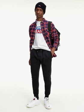 TOMMY ORGANIC COTTON SLIM FIT JOGGERS