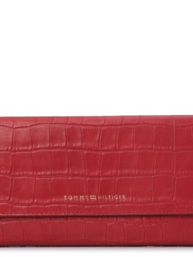 TOMMY HILFIGER Turnlock Wallet with Flap