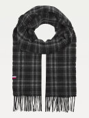 Tommy Hilfiger - TOMMY PURE WOOL CHECK SCARF