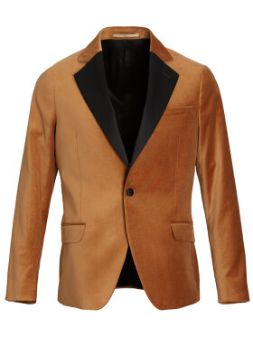 KARLSEN velour gold blazer