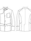 Bertoni of Denmark - AGERSKOV wool coat