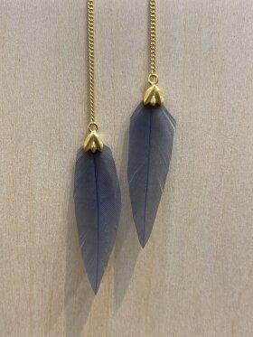 KIVILAI BLUE EARRING