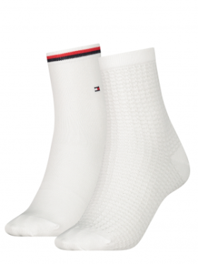 Tommy Hilfiger WOMEN SHORT SOCK 2P