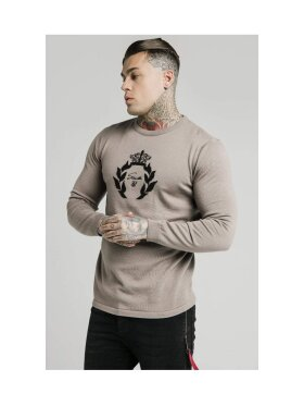 sik silk Knitted Prestige Sweater
