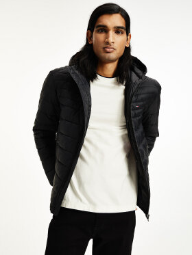 Tommy Hilfiger PACKABLE DOWN HOODED PUFFER JAcket