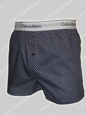 Calvin Klein Woven Boxer Slim-Fit 2 pk