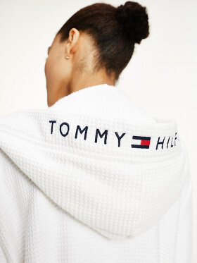 Tommy Hilfiger WAFFLE HOODED BATHROBE