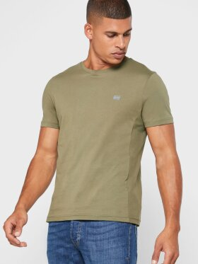 TOMMY HILFIGER ESSENTIAL PANELLED PURE COTTON T-SHIRT