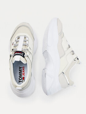 TOMMY HILFIGER LIGHTWEIGHT COLOUR POP TRAINERS
