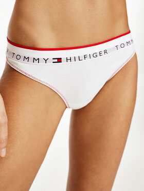 TOMMY REPEAT LOGO WAISTBAND THONG