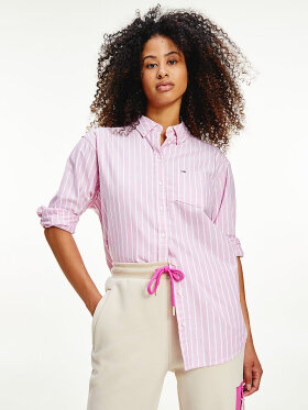 Tommy STRIPE RELAXED FIT SHIRT