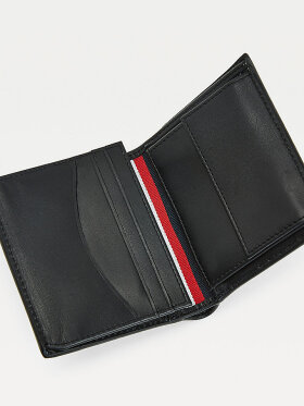 TOMMY BUSINESS TRI-FOLD LEATHER WALLET