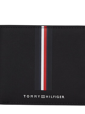 TOMMY COMMUTER SMALL LEATHER WALLET