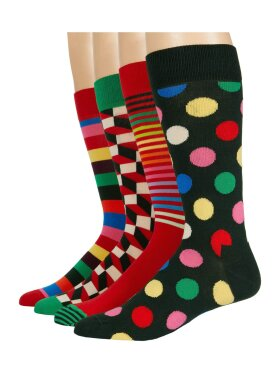 Happy Socks 4-Pack Classic Holiday