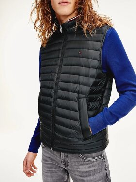 TOMMY RECYCLED QUILTED PACKABLE VEST