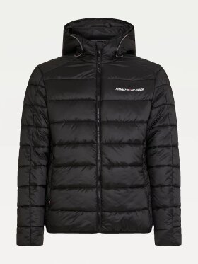 TOMMY SPORT HOODED PADDED JACKET