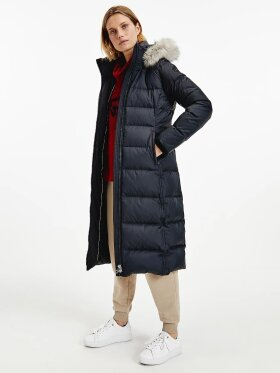 TOMMY ESSENTIAL DOWN-FILLED MAXI COAT