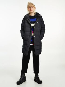 TOMMY ESSENTIAL LONG  PUFFER